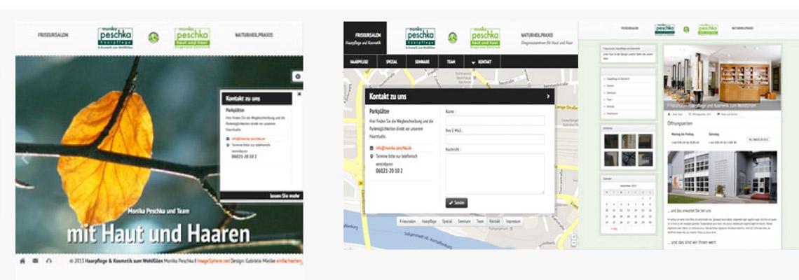 Websiten Und Druckersachen Grafikagentur Webdesign Gabriele